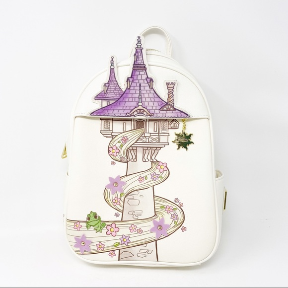 Loungefly Bags Disney Nwt Rapunzel Tangled Backpack Poshmark